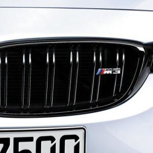 Передняя левая решетка радиатора BMW M Performance F80 M3, Black