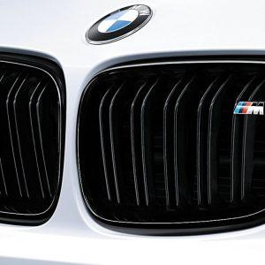 Передняя левая решетка радиатора BMW M Performance F87 M2, Black