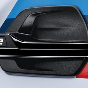 Декоративная накладка на левое крыло BMW M Performance блестящего черного цвета F87 M2