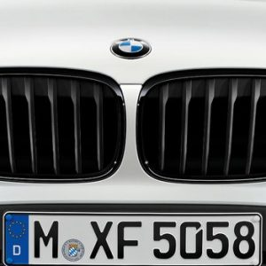 Передняя правая решетка радиатора BMW M Performance F48 X1, Black
