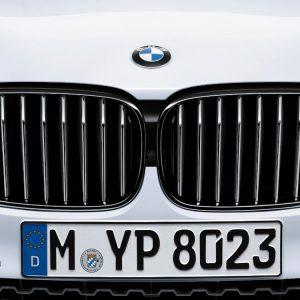 Передняя правая решетка радиатора BMW M Performance G11/G12 7 серия, Black