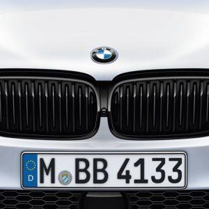 Передняя правая решетка радиатора BMW M Performance G30/G31 5 серия, Black