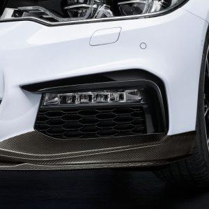 Правая карбоновая накладка переднего бампера BMW M Performance G30/G31 5 серия