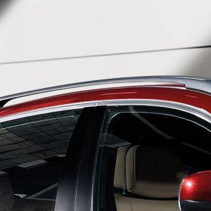Релинги на крыше BMW E72/E71 X6, серебристые