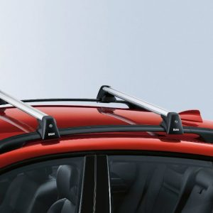 Релинги на крыше BMW E72/E71 X6, черные