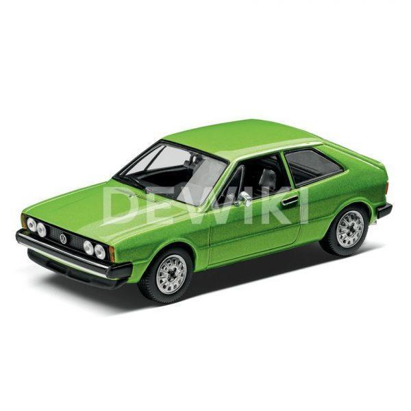 Модель в миниатюре 1:43 Volkswagen Scirocco, Viper Green Metallic