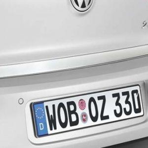 Накладка на крышку багажника Volkswagen Golf 6 / Golf 6 GTI, хромированная