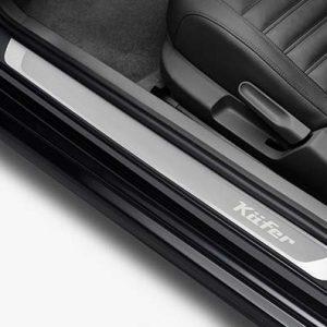 Накладки на пороги Volkswagen Beetle, с надписью Kfer