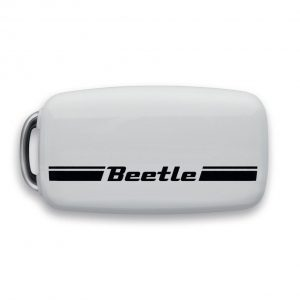 Футляр для ключа Volkswagen Beetle, трехкнопочный ключ