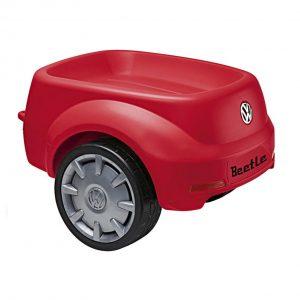 Прицеп к детскому автомобилю Volkswagen Junior Beetle, Red