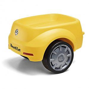 Прицеп к детскому автомобилю Volkswagen Beetle Trailer, Yellow