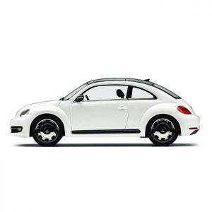 Модель в миниатюре 1:43 Volkswagen Beetle, Oryx White Pearl