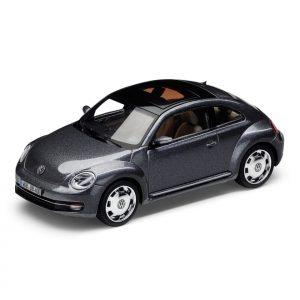 Модель в миниатюре 1:43 Volkswagen Beetle, Platinum Grey Metallic