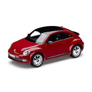 Модель в миниатюре 1:18 Volkswagen Beetle, Tornado Red