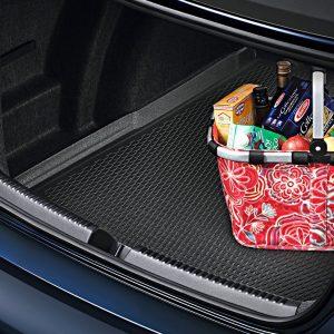 Коврик в багажник Volkswagen Jetta 6, для автомобилей с базовым полом багажника