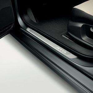 Накладки на пороги Volkswagen Jetta 6, с надписью Jetta