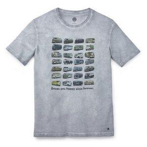 Мужская футболка Volkswagen T1 Summer Edition