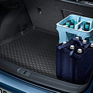 Коврик в багажник Volkswagen Golf 7, для автомобилей с базовым полом багажника