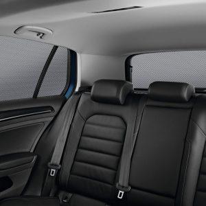 Солнцезащитные шторки Volkswagen Golf 7, для стекол задних дверей и для заднего стекла