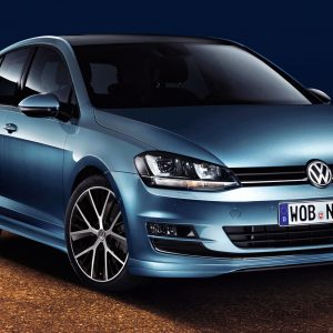 Накладки порогов Volkswagen Golf 7