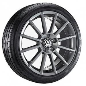 Летнее колесо в сборе VW Golf в дизайне Rotary,  225/40 R18 92Y/ZR XL, Anthracite, 7.5J x 18 ET51