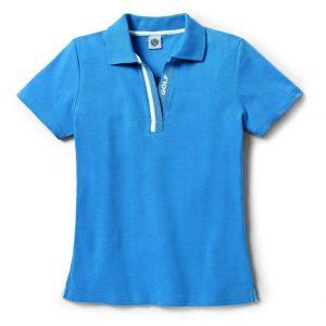 Женская рубашка-поло Volkswagen Golf, Blue