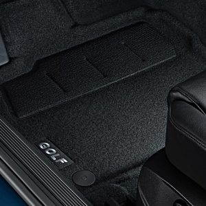 Коврики в салон Volkswagen Golf 7, текстильные Optimat передние и задние, 3D