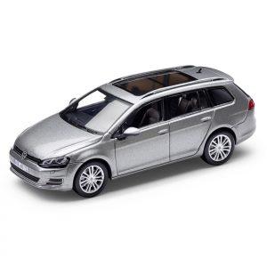 Модель в миниатюре 1:43 Volkswagen Golf Variant VII, Silver Metallic