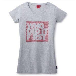 Женская футболка Volkswagen GTI, Who did it first
