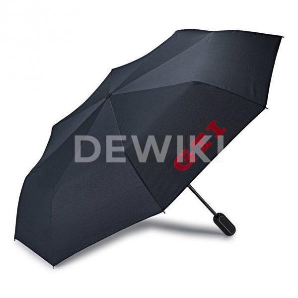 Складной зонт Volkswagen GTI, Black