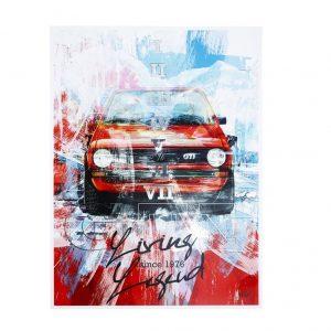 Художественная печать Постер 40 лет GTI, «Living Legend - since 1976», коллекция GTI
