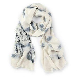 Шелковый шарф Volkswagen, Think Blue