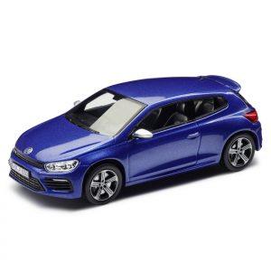 Модель в миниатюре 1:43 Volkswagen Golf R, Blue Metallic
