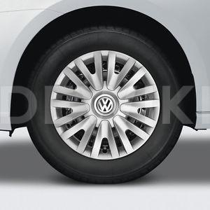 Комплект колесных колпаков R15 Volkswagen, Diamond Silver / High Chrome
