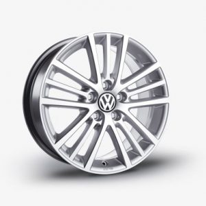 Диск литой R17 Volkswagen, Onyx Brilliant Silver, 7J x 17 ET54