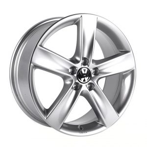 Диск литой R18 Volkswagen,Topas Sterling Silver, 7,5J x 18 ET51