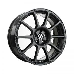 Диск литой R18 Volkswagen, Motorsport Black Glossy, 7,5J x 18 ET51
