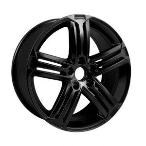 Диск литой R19 Volkswagen, Talladega Black Glossy, 8J x 19 ET51