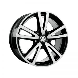 Диск литой R17 Volkswagen, Seattle Aluminium Gloss / Black, 7J x 17 ET54