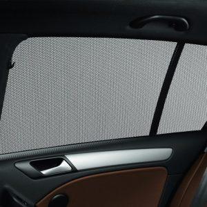 Солнцезащитные шторки Volkswagen Golf 6 / 6 GTI, для стекол задних дверей