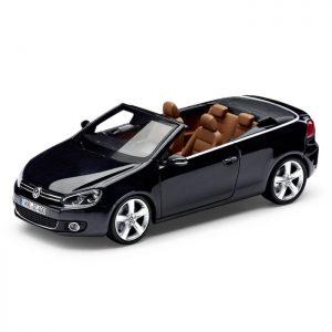Модель в миниатюре 1:43 Volkswagen Golf Cabriolet, Dark Purple Metalli