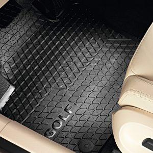 Коврики в салон Volkswagen Golf Plus, резиновые передние