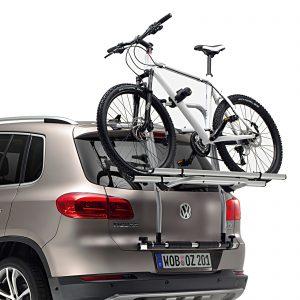Велокрепление на крышку багажника для двух велосипедов Volkswagen Tiguan (5N)