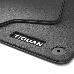 Коврики в салон Volkswagen Tiguan (5N), текстильные Premium передние
