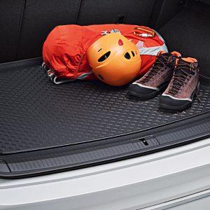 Коврик в багажник Volkswagen Tiguan (5N) с 2016 года, для автомобилей с высоким полом багажника