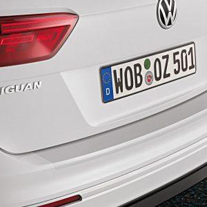 Защитная пленка на задний бампер Volkswagen Tiguan (5N) с 2016 года