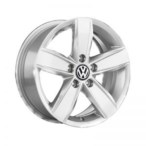 Диск литой R17 Volkswagen, Corvara Brilliant Silver, 6,5J x 17 ET38