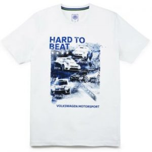 Мужская футболка Volkswagen Motorsport Hard to beat, White