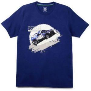 Мужская футболка Volkswagen Motorsport, Race Touareg, Blue