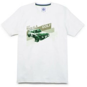 Мужская футболка Volkswagen Golf I GTI, white